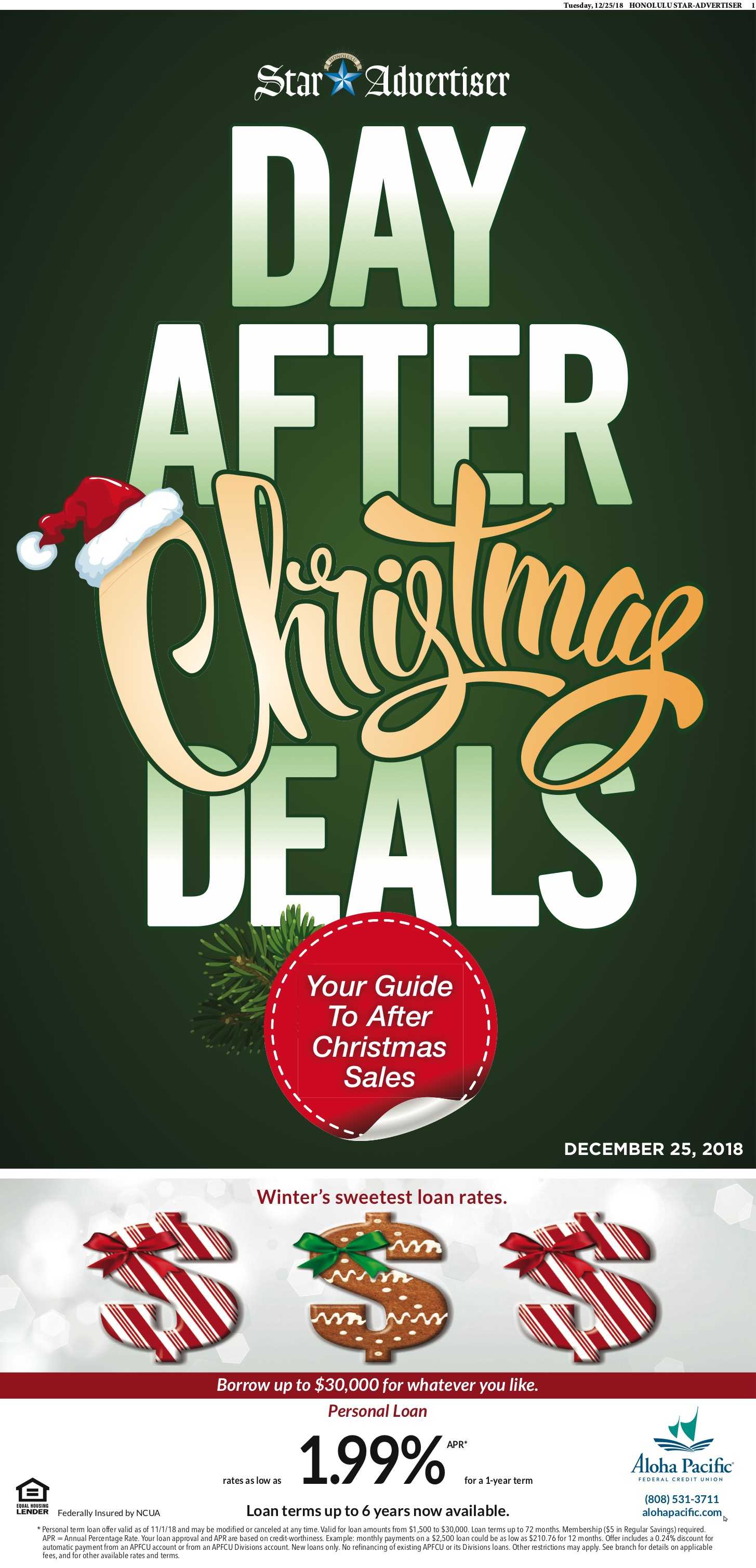 After Christmas Deals.2018 Day After Christmas Deals